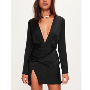 Blacked paneled dress - Brand new